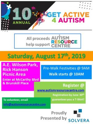10th Annual Get Active 4 Autism